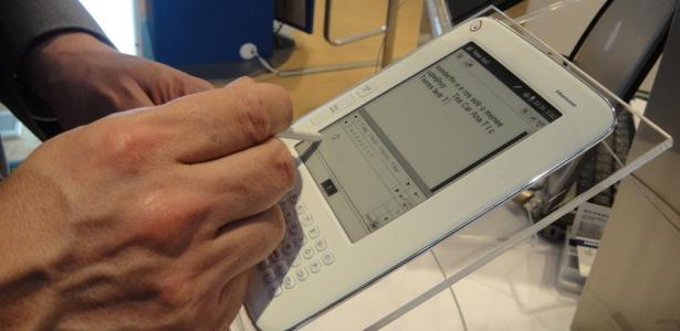 Chinesa Hanvon possui seis modelos diferentes: o N526, por exemplo, reconhece a escrita