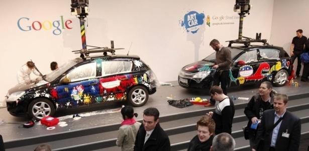 Carros do Street View ganharam novas cores para atrair a 'simpatia' dos alemães em 2010