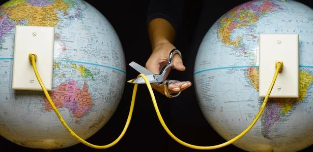 Falha em roteadores prejudicou o acesso de usuários a sites hospedados fora do Brasil