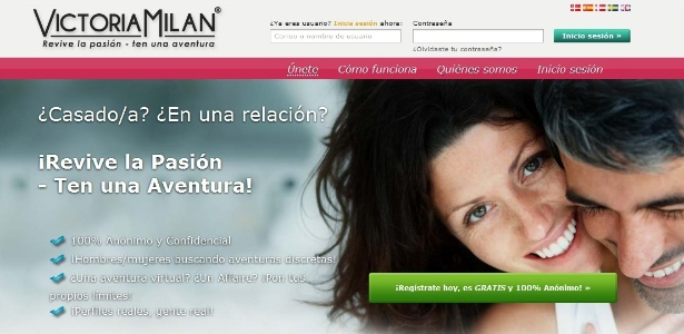 Site afirma ser o primeiro a ajudar pessoas casadas ou comprometidas a traírem companheiros