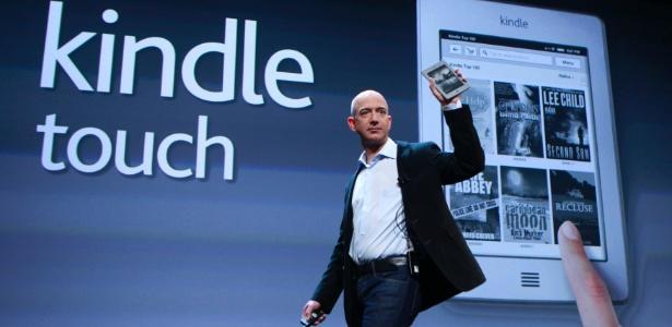 Amazon inicia venda da versão internacional do Kindle Touch 3G para vários países