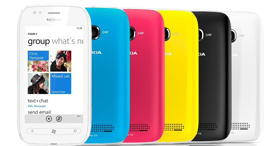 Nokia Lumia 710 com Windows Phone