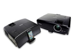 O Megaplex, da Epson, é um projetor de mesa para iPhones com alto-falantes embutidos