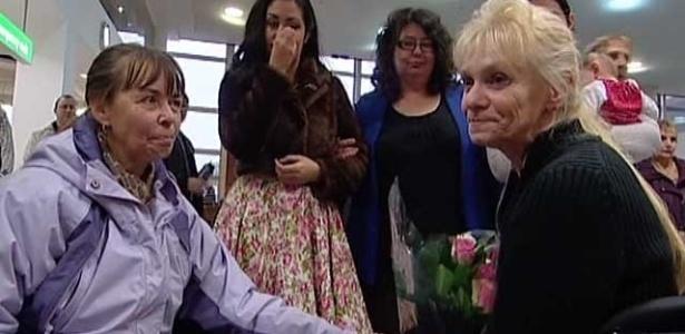 As irmãs foram separadas quando eram crianças e só se encontraram após 60 anos