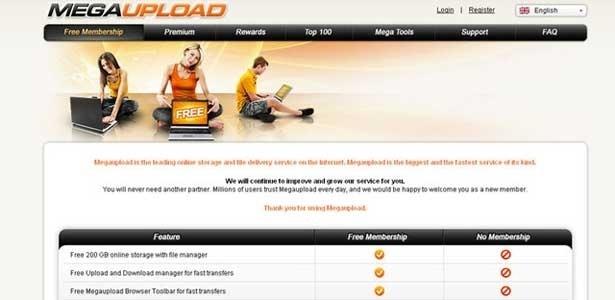FBI bloqueia Megaupload por distribuição massiva de pirataria na internet