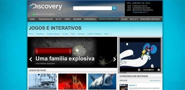 Site Do Discovery Channel Tem Not  Cias  Blogs  V  Deos  Fotos E Jogos