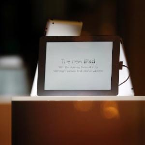 iPads como o da foto foram levados pelos ladrões