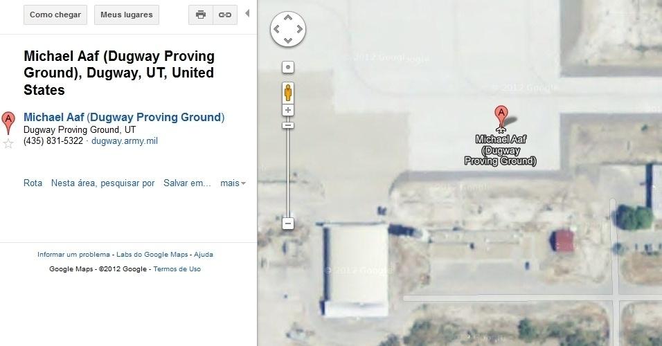 Área 52 em  Dugway, em Utah, EUA