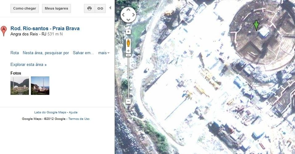 Central Nuclear Almirante Álvaro Alberto no Google Maps