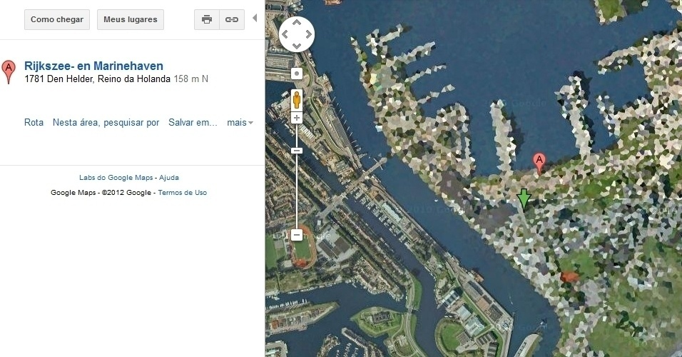 Instalações navais de Den Helder, na Holanda