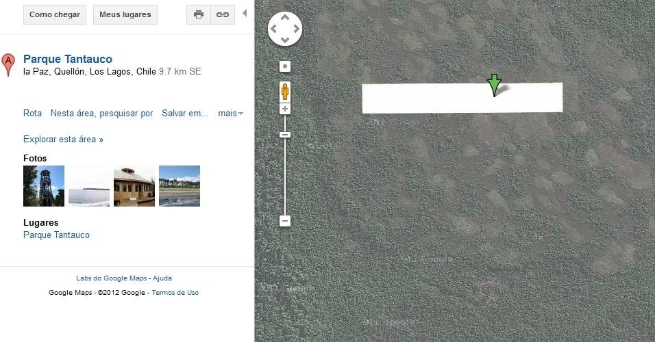 Parque Nacional de Tantauco, no Chile