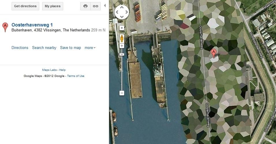 Tanques de petróleo em Vlissingen, Holanda