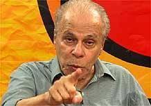 Jece Valadão em entrevista no estúdio da TV UOL (fev./2006)