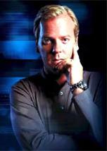 Kiefer Sutherland na série 24 Horas que passa a ser exibida dublada