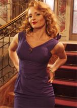 Rita Guedes como Kátia, na novela