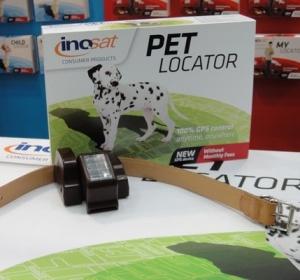 O Pet Locator pode ser preso à coleira de um animal de estimação e possui painel solar para que a bateria dure até 30 dias. Custa 399 euros