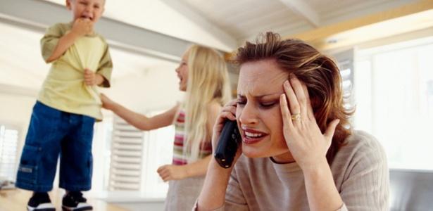 Crianças cujas mães utilizaram celulares durante a gestação teriam probabilidade 50% mais elevada de apresentar problemas comportamentais - Getty Images