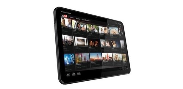 Tablet Motorola Xoom tem tela de 10 polegada e Android 3.0 (voltado para tablets)
