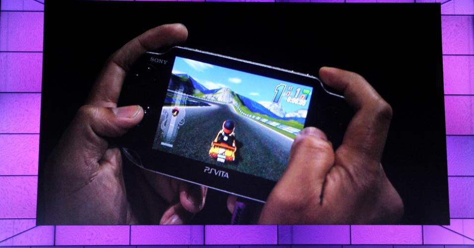 Sony apresenta o console portátil Sony Vita na E3 2011