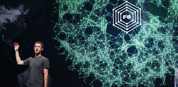 Mark Zuckerberg, CEO do Facebook, durante evento F8 em que anunciou o recurso Timeline