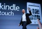 Amazon libera Kindle 3G com tela sensível ao toque para o Brasil e mais 174 países - Shannon Stapleton/Reuters