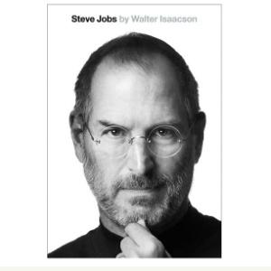 Capa da biografia autorizada de Steve Jobs, escrita pelo jornalista Walter Isaacson - Reprodução