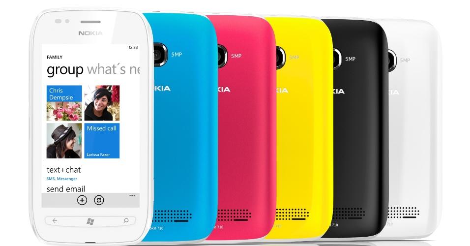 Nokia Lumia 710 com Windows Phone