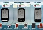 Celulares de até R$ 500 funcionam como boas TVs de bolso; veja teste - Arte/UOL