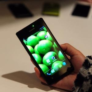 O smartphone Ascend P1, da Huawei, foi apresentado como ''o mais fino do mundo''. Com Android 4.0, o aparelho tem 6,88 mm, tela AMOLED de 4.3 polegadas e usa processador de 1.5GHz