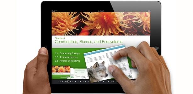 Atualização do aplicativo iBooks pretende deixar leitura de livros digitais ''mais interativa''