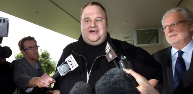 Kim Dotcom, fundador do Megaupload, deixa prisão na Nova Zelândia após pagar fiança