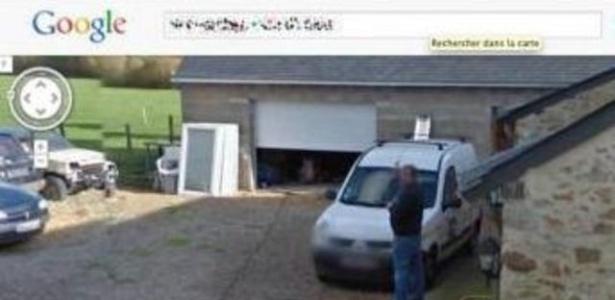 Imagem do Street View mostra homem francês urinando; ele quer que o Google remova a foto