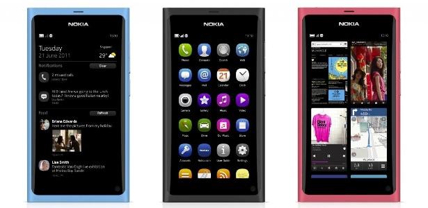 Nokia N9 usa a plataforma MeeGo e tem preço sugerido de R$ 1.800 no Brasil