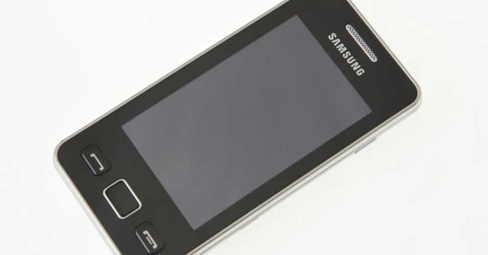 Samsung Star II é smartphone com boa tela sensível ao toque, mas sem 3G