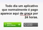AppGrátis avisa quando é possível baixar, de graça, um aplicativo pago para iPhone - Reprodução