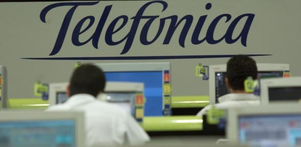 Centro de Operações e Supervisão da Telefônica em São Paulo; matriz da companhia, Telefónica, foi multada na Espanha por exercer monopólio de banda larga ADSL